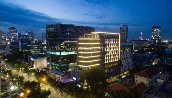 AONE Hotel Jakarta - Tampilan Luar Hotel