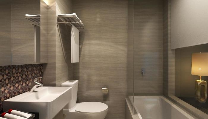 AONE Hotel Jakarta - Kamar mandi