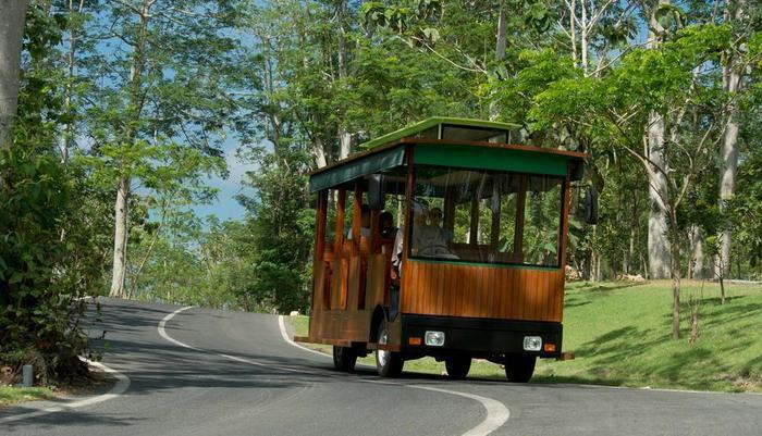Ayana Bali - Antar-Jemput trem