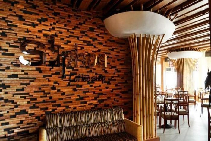 Hotel Victoria River View Banjarmasin - Kedai kopi