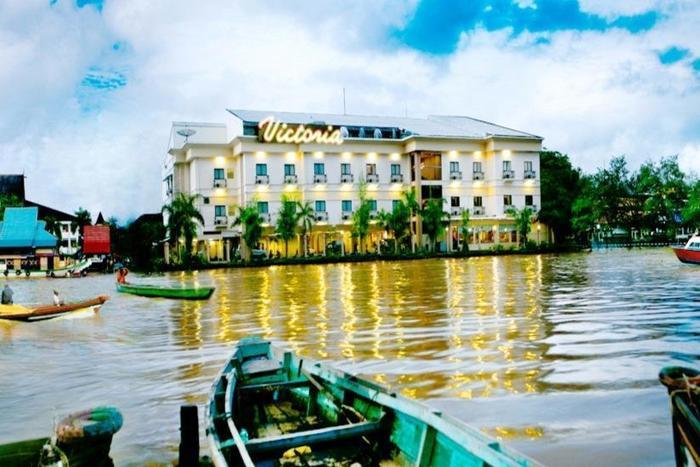 Hotel Victoria River View Banjarmasin - Tampilan Luar Hotel