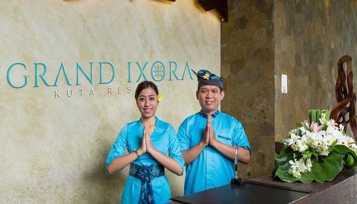 Grand Ixora Kuta Resort Bali - Resepsionis