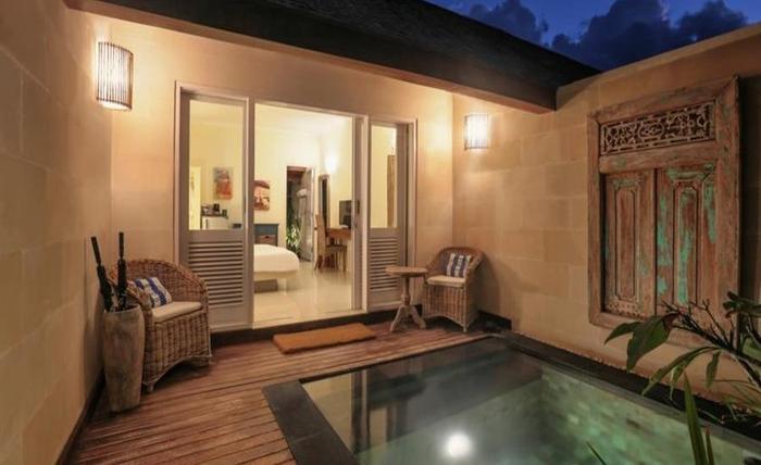 Scallywags Resort Gili Trawangan - Kolam Renang