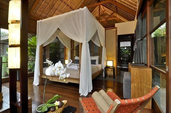 Luwak Ubud Villas Bali - Aerial View