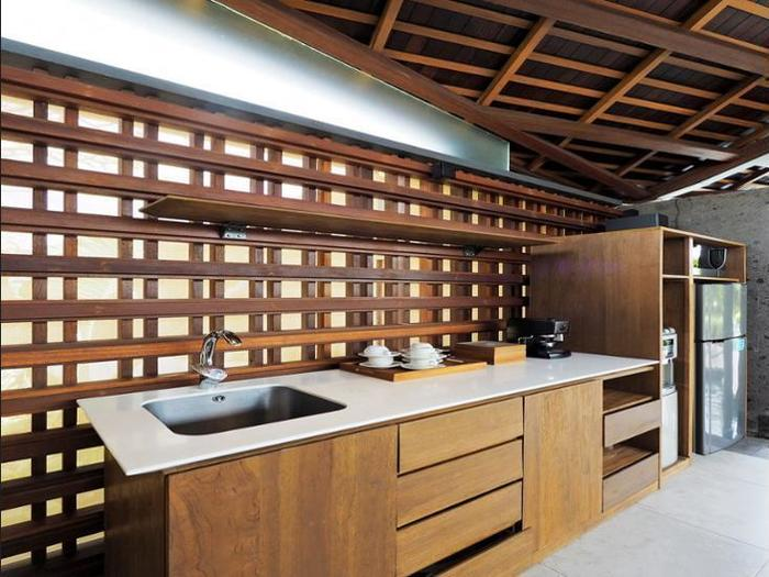 The Santai Bali - In-Room Kitchenette