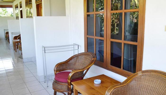 Flamboyan Hotel Bali - Teras Lantai 2