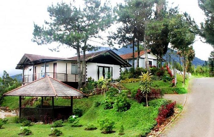 Villa Rotensia Istana Bunga Lembang Bandung - Eksterior