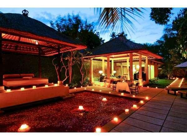 Kayumanis Sanur Private Villa & Spa Bali - Romantic Candle Light Dinner