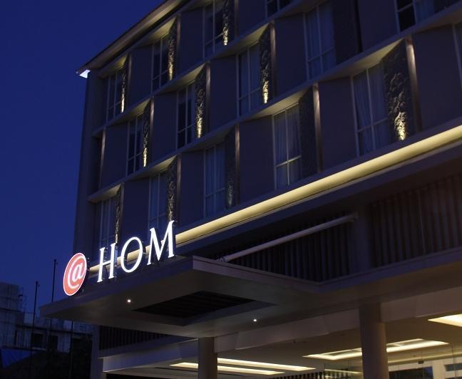 HOM Gowongan Platinum Hotel Yogyakarta - Tampilan Luar