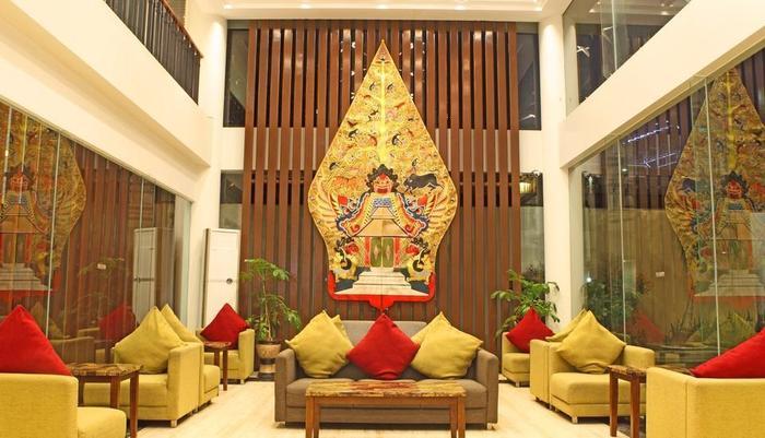 HOM Gowongan Platinum Hotel Yogyakarta - lobbi