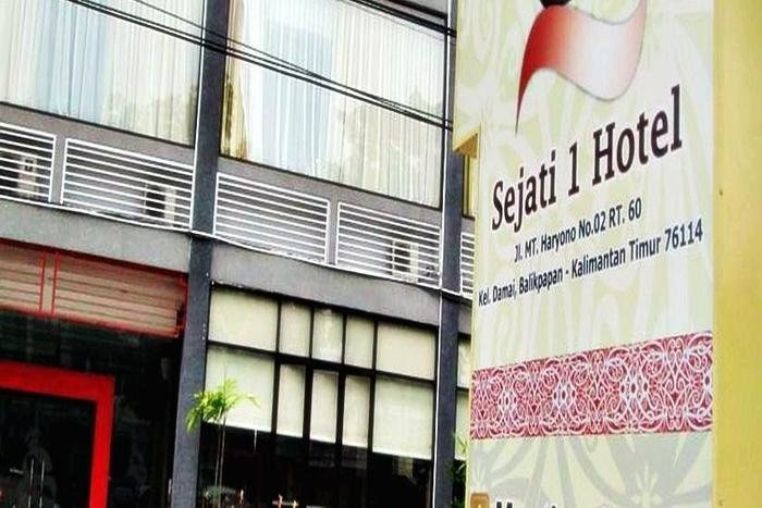 Hotel Sejati 1 Balikpapan - Tampilan Luar Hotel