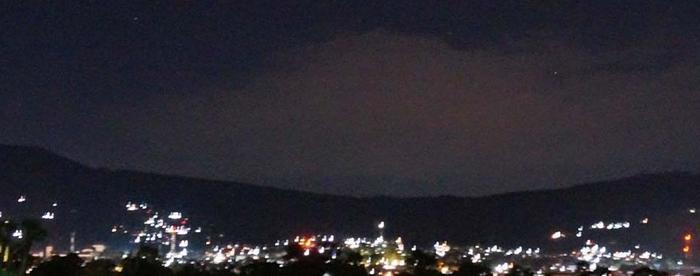 Pondok Buah Sinuan Bandung - Exotic View, salah satu view kota Lembang saat malam hari