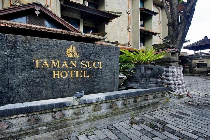 Taman Suci Hotel Bali - Tampilan Luar Hotel