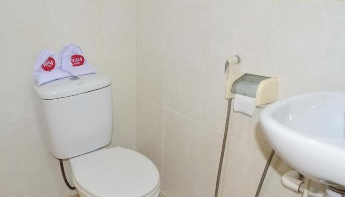NIDA Rooms Tampan SM Amin - Kamar mandi