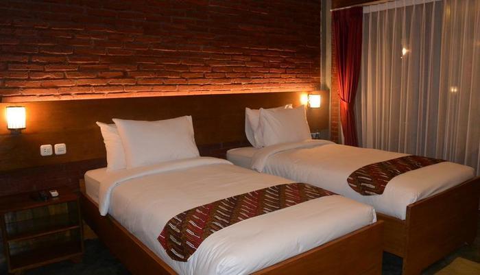 Wahid Borobudur Magelang - Kamar dua tempat tidur