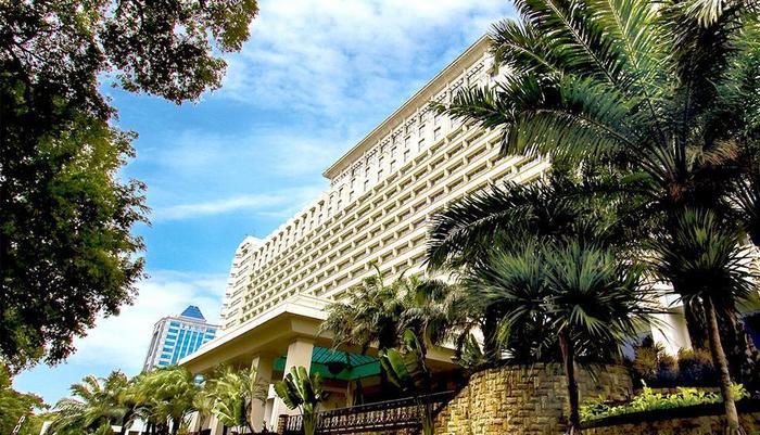 Hotel Borobudur Jakarta - Front