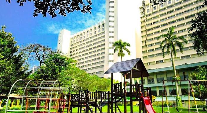 Hotel Borobudur Jakarta - Tampilan Luar Hotel