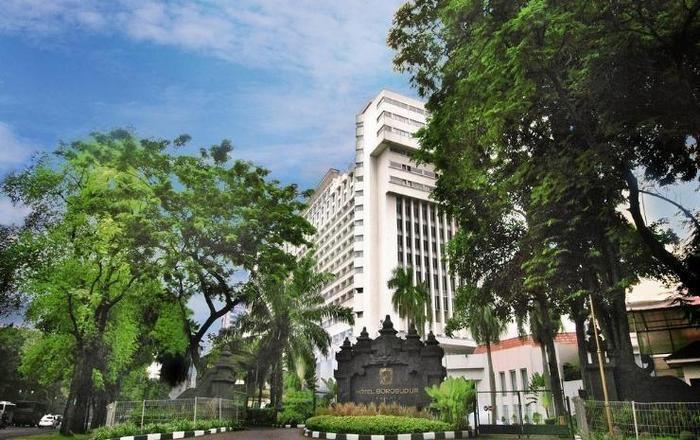 Hotel Borobudur Jakarta - Bangunan hotel