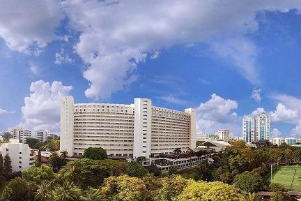 Hotel Borobudur Jakarta - City View