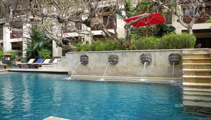 Puri santrian Bali - Kolam Renang Santrian