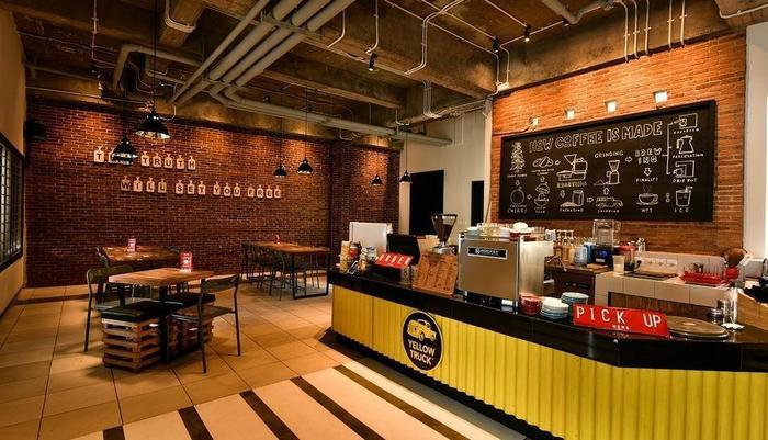 Cherry Homes Express Hotel Bandung - Kedai kopi