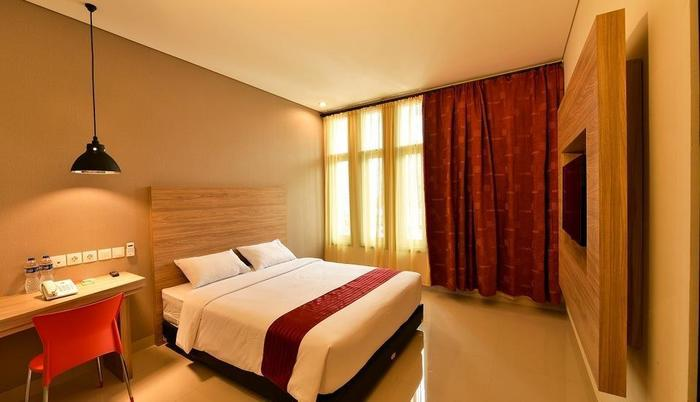 Cherry Homes Express Hotel Bandung - Deluxe Tempat Tidur Double