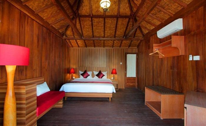 Pesona Mangrove Bungalow Lembongan - Kamar tamu