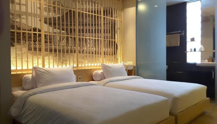Tama Boutique Hotel Bandung - Deluxe Twin