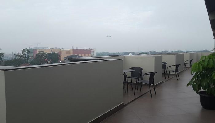 Tama Boutique Hotel Bandung - Terrace Lounge