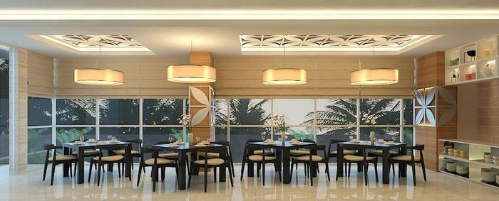 BIZ Boulevard Hotel Manado - Area Restoran