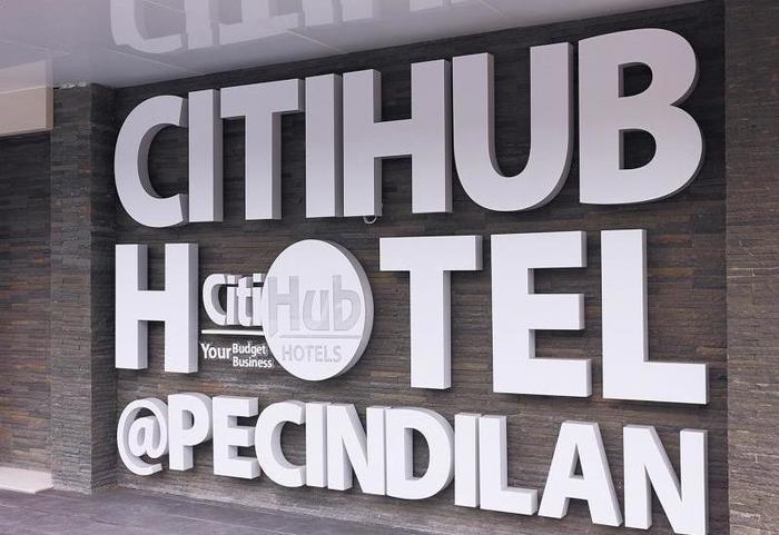Citihub Hotel at Pecindilan Surabaya - Eksterior