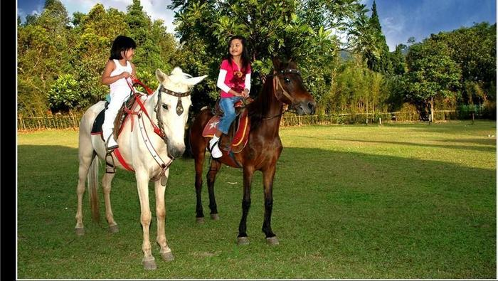 Sari Ater Hotel Subang - Menunggang Kuda