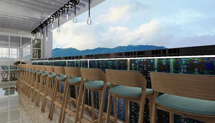 West Point Hotel Bandung - Sky Lounge