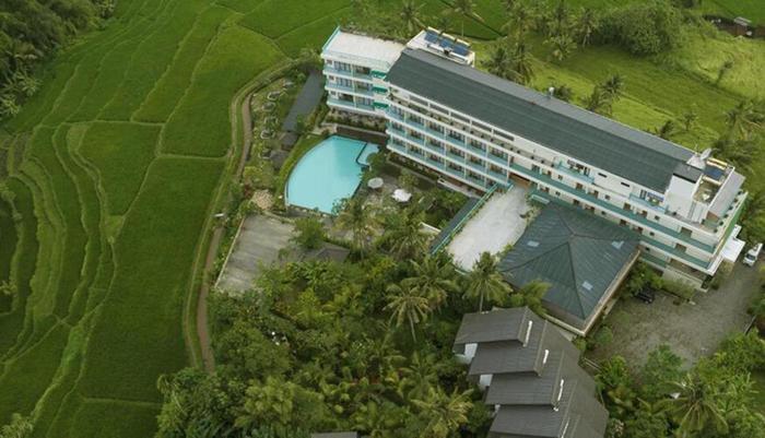 Royal Casa Ganesha Hotel & Spa Ubud Bali - Aerial View