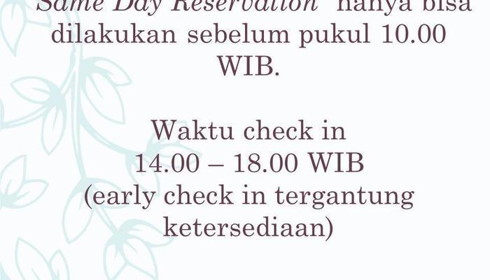Araya Vacation Home Soekarno Hatta Malang - Kebijakan pemesanan