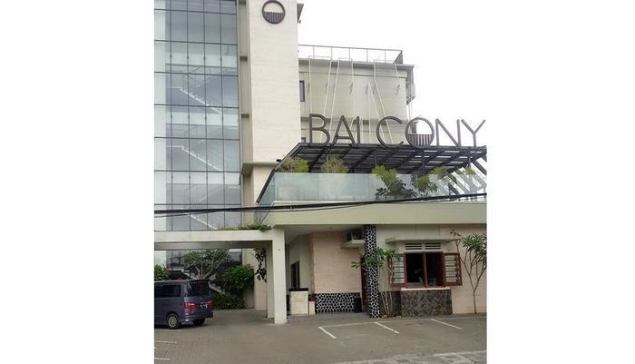Balcony Hotel Sukabumi - bangunan