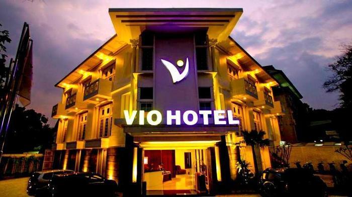 Hotel Vio Cimanuk - Tampilan Luar