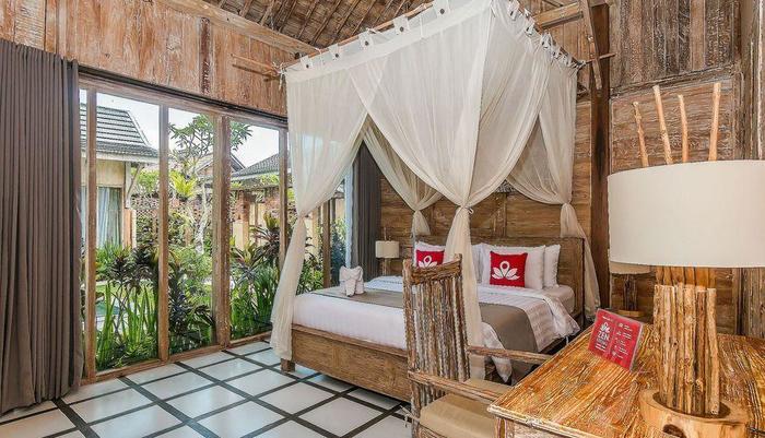 ZEN Premium Ubud Nyuh Bojog Bali - Ranjang Ganda