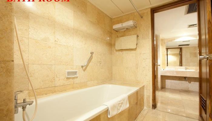 Inna Garuda Hotel Yogyakarta - kamar mandi