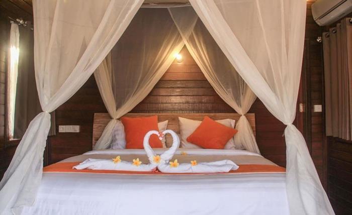 Dinatah Lembongan Villas Bali - Kamar tamu