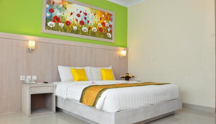 Hotel Puri Saron Denpasar Bali - Kamar Deluxe