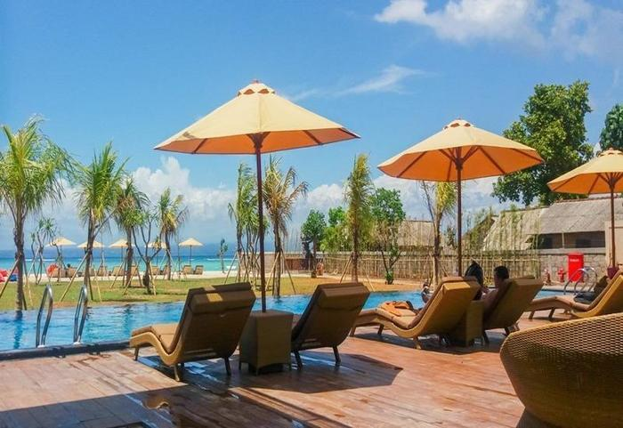 d'Nusa Beach Club and Resort Bali - Eksterior