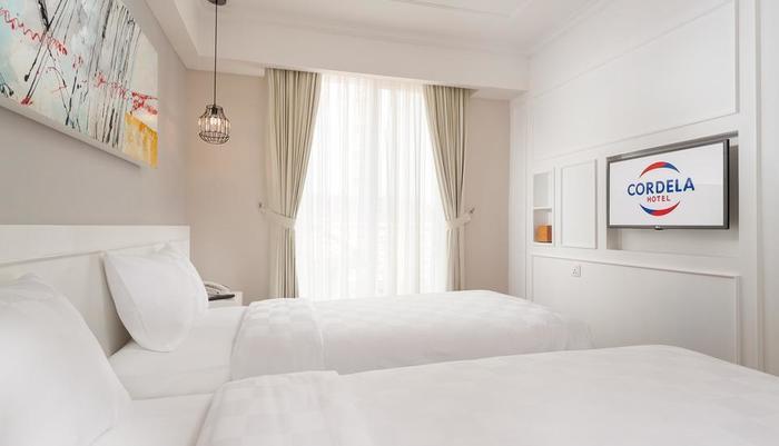 Cordela Norwood Hotel Jakarta - Kamar Deluxe denga 2 tempat tidur terpisah