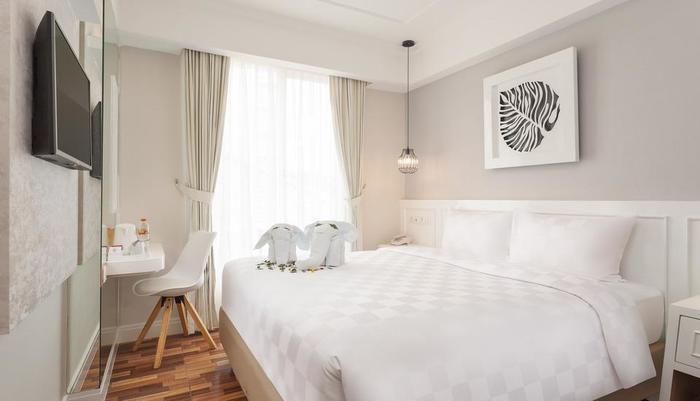 Cordela Norwood Hotel Jakarta - Deluxe Double ( satu tempat tidur besar )