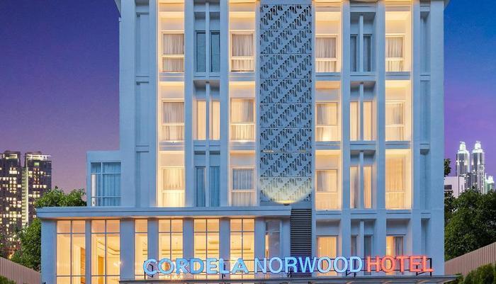 Cordela Norwood Hotel Jakarta - Gedung Tampak depan