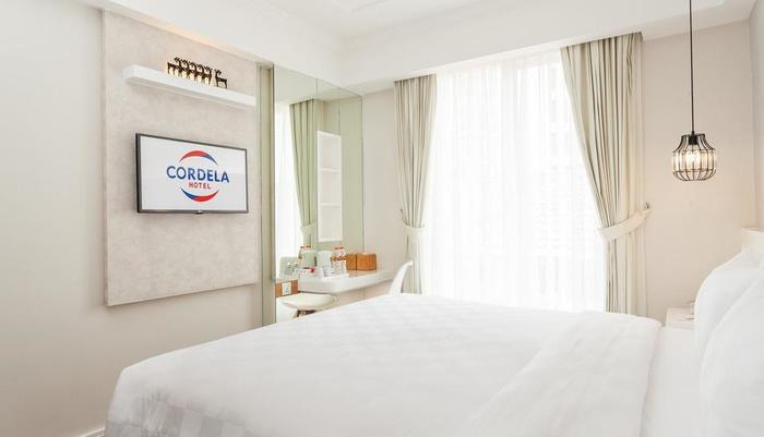 Cordela Norwood Hotel Jakarta - Deluxe room ( satu tempat tidur besar )
