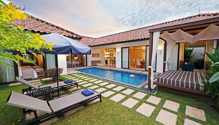 Holiday Villa Pantai Indah Bintan - Kolam Renang Pribadi