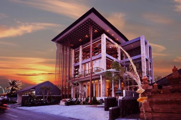 The Adma Umalas Resort Bali - Tampilan Luar Hotel