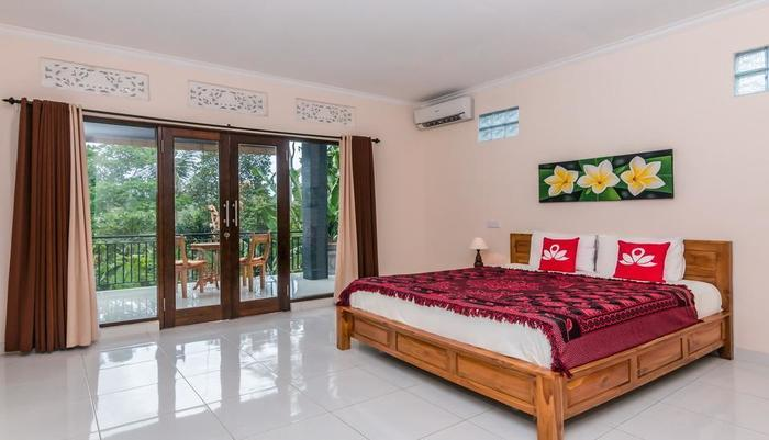 ZenRooms Ubud Laplapan Bali - Tempat Tidur Double