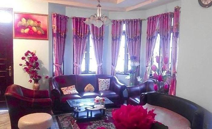 Villa Salman Bumi Ciherang Cianjur - Ruang tamu
